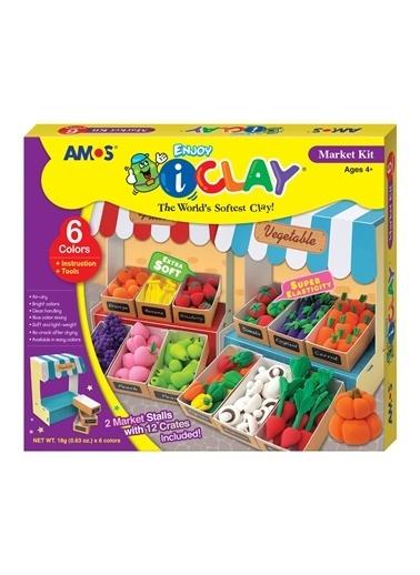 Amos I-Clay Market Seti Renkli